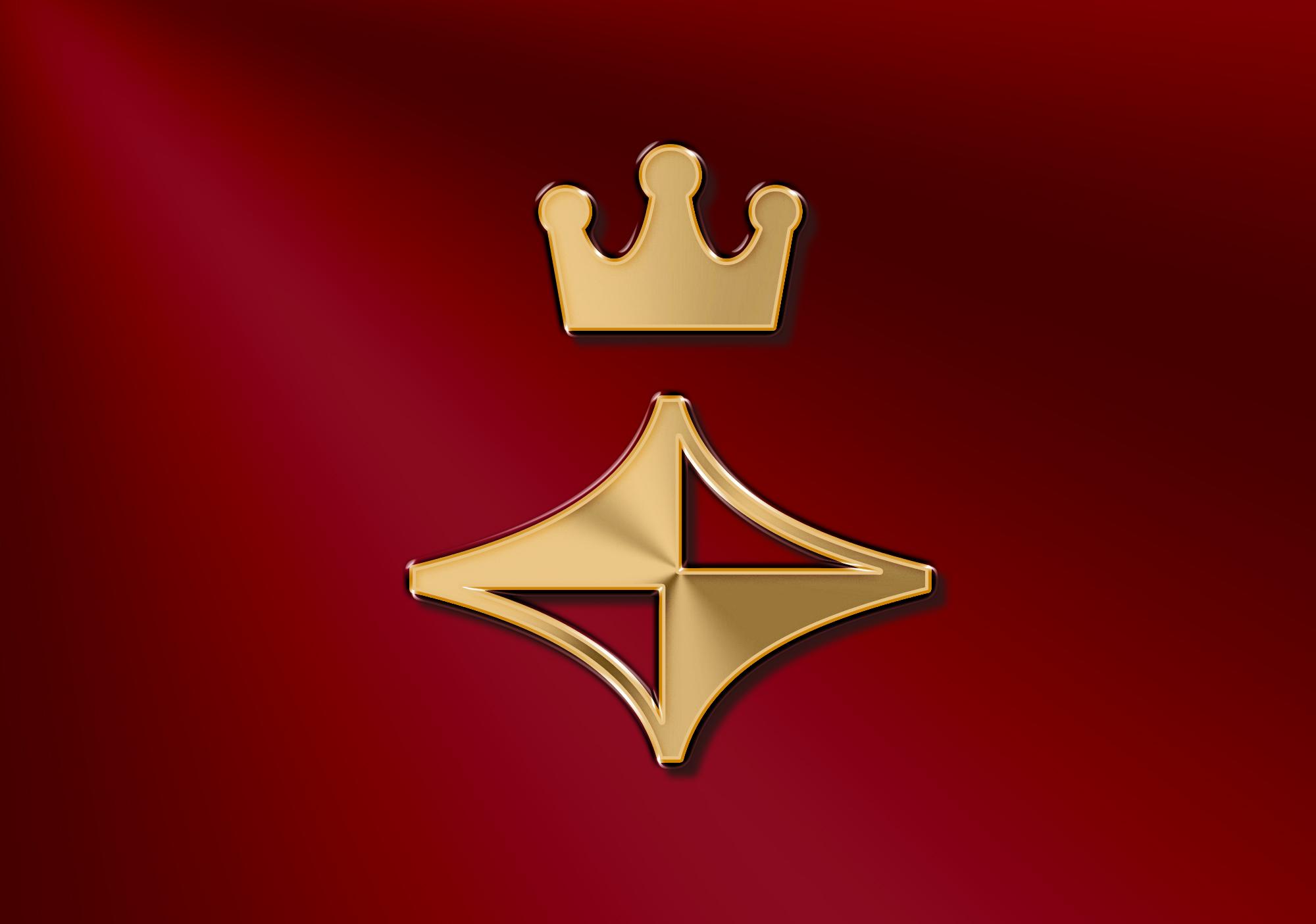 Hai biểu tượng NTJ, vương miện và ngôi sao
