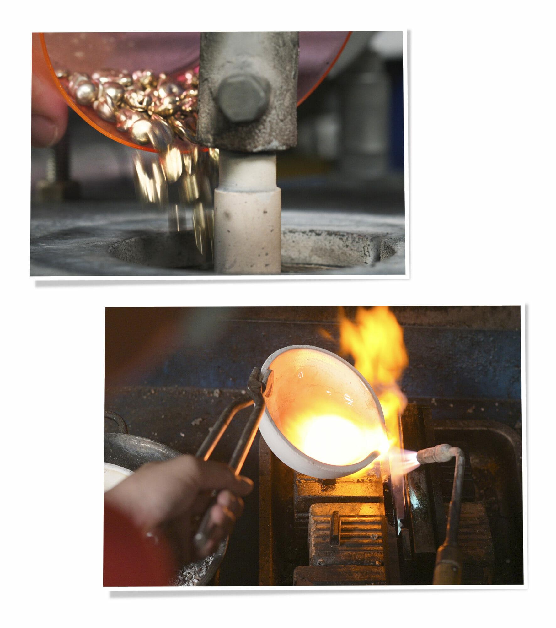 Quá trình đúc kim loại