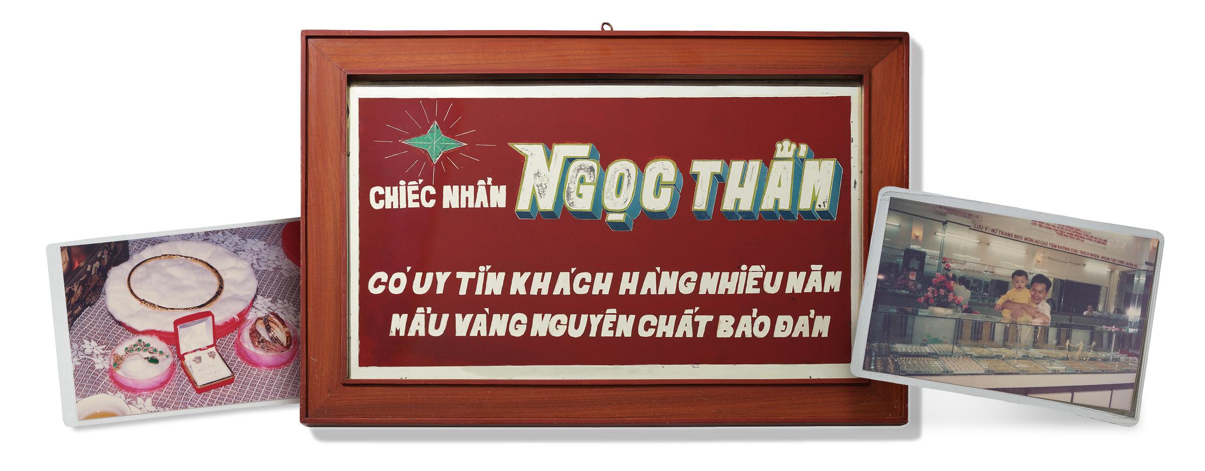 Tấm bảng thương hiệu trang sức đầu tiên của NTJ