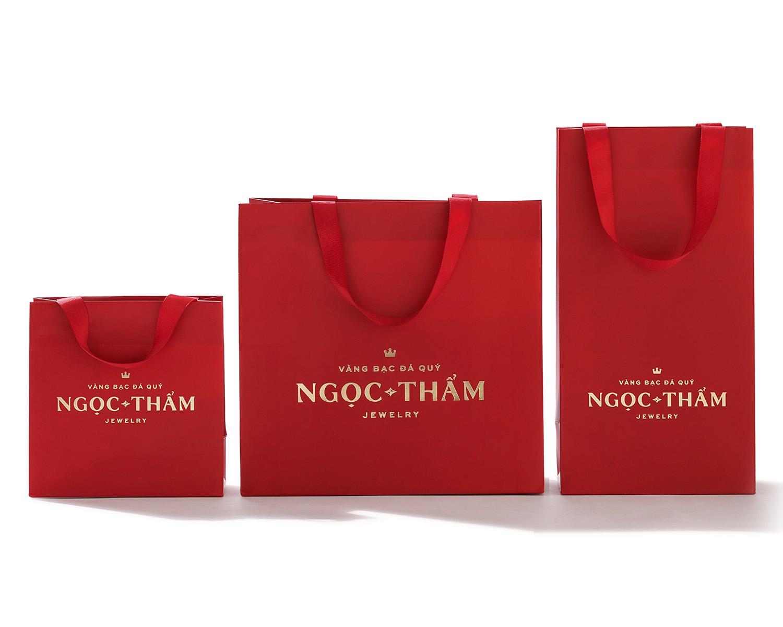 Túi giấy đựng trang sức NTJ