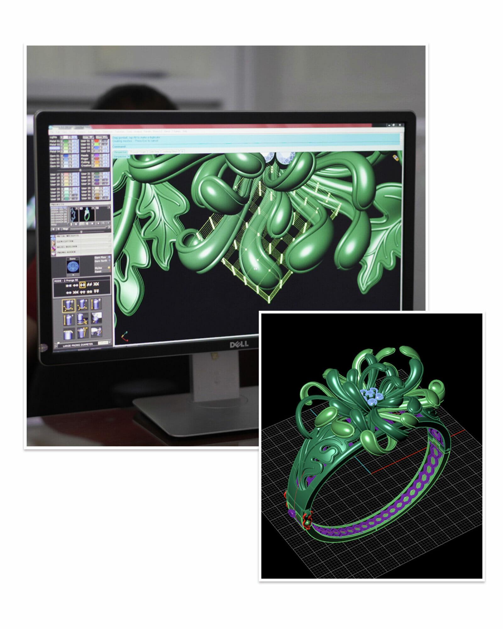 Bản vẽ 3D BST Cúc Viên Mãn