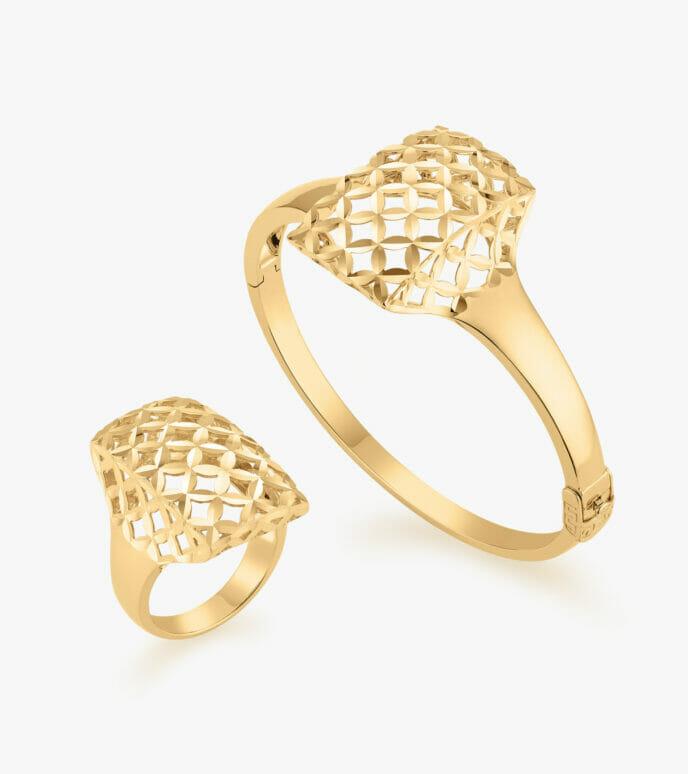 Bộ trang sức Vàng 18K CSDB973