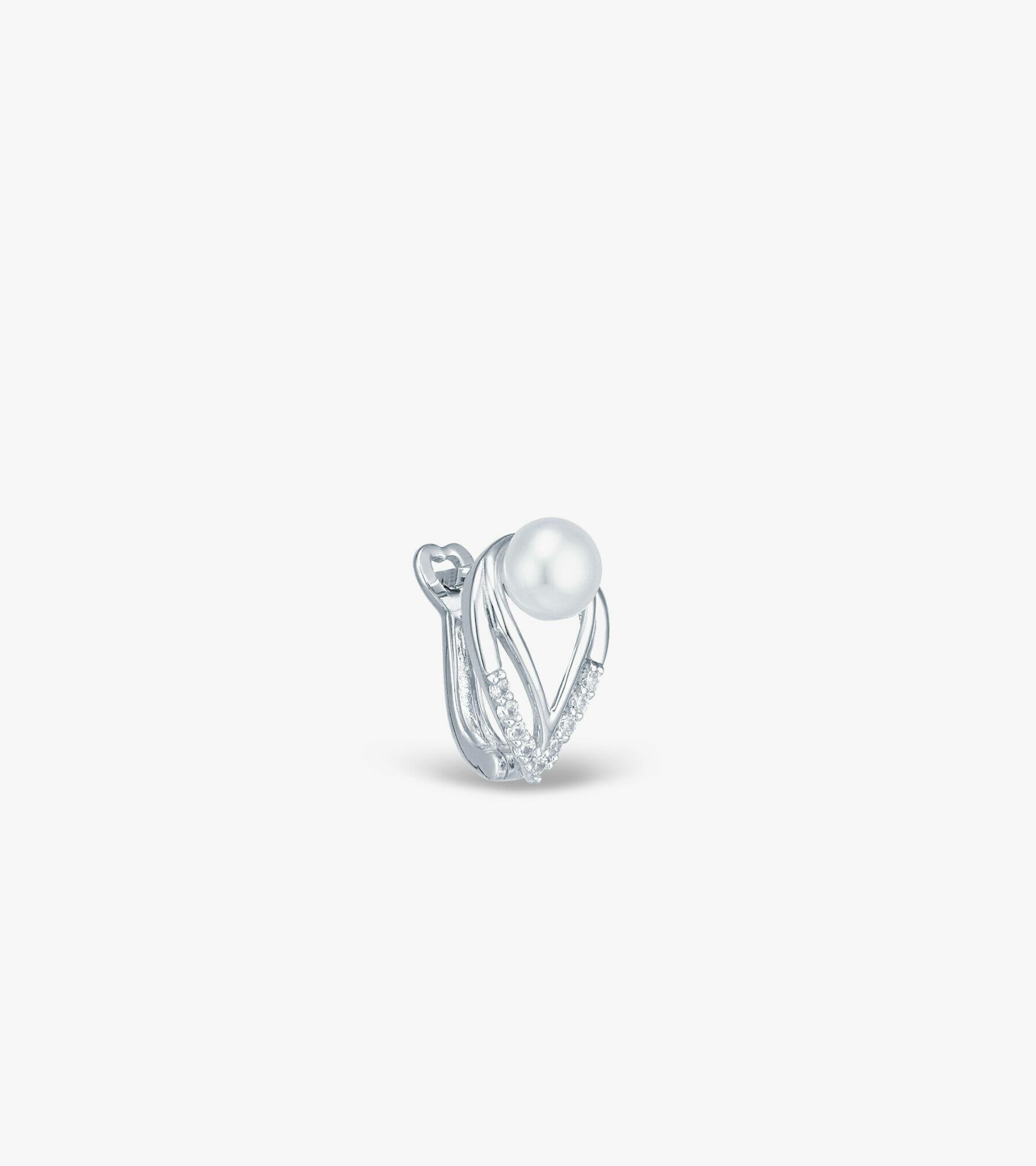 Bông tai Ngọc trai Vàng trắng CSDB919B