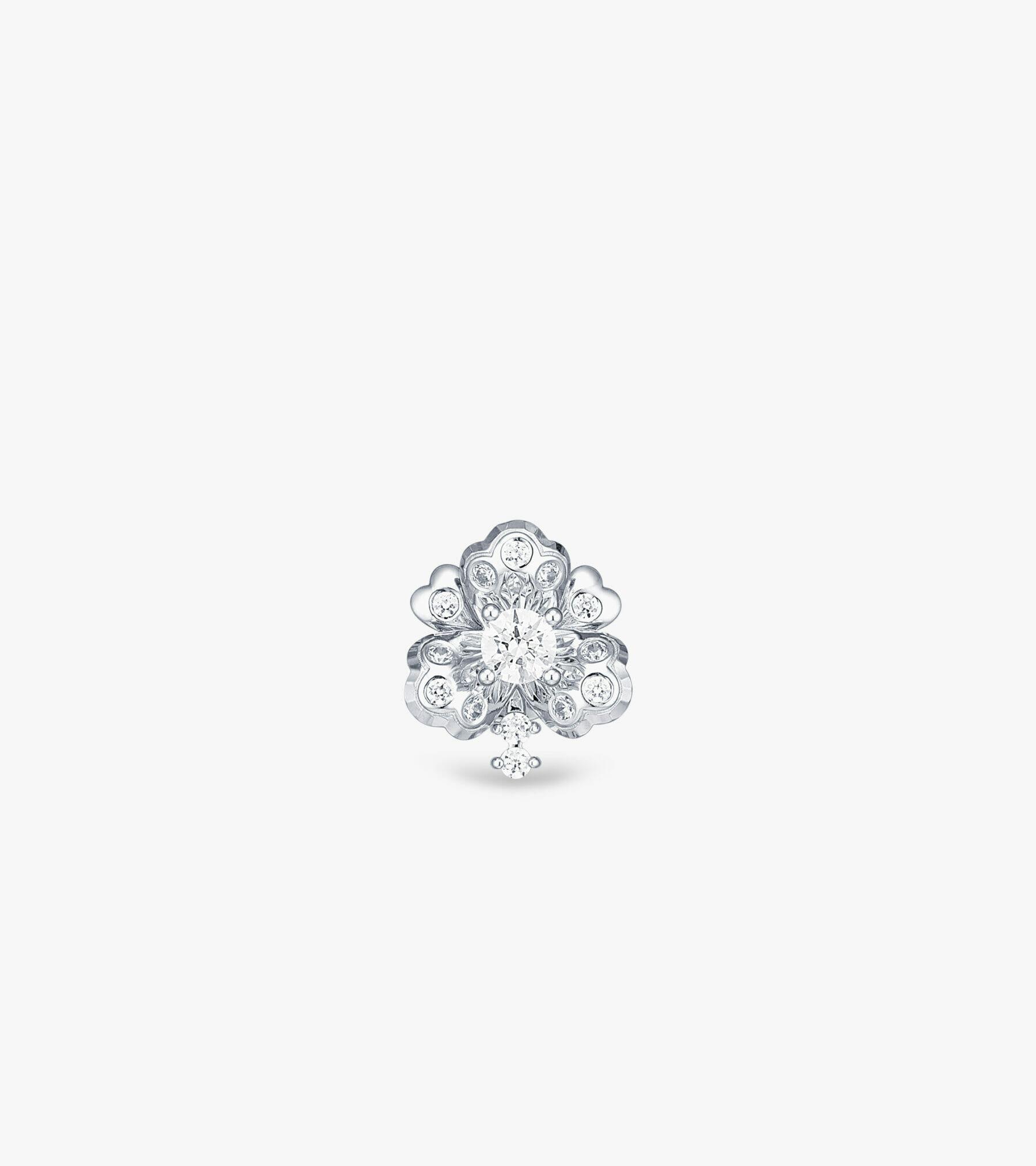 Bông tai Vàng trắng CSDB945B