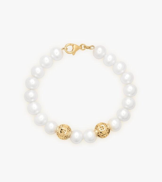 Lắc tay Ngọc trai Vàng 18K CLHB01