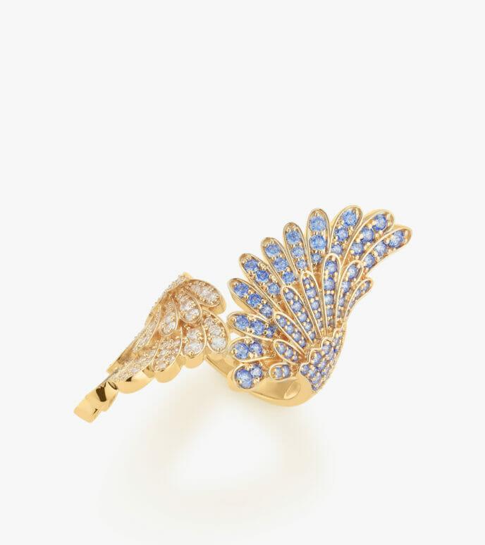 Nhẫn nữ Đá màu Swarovski Vàng 18K GSDB964N