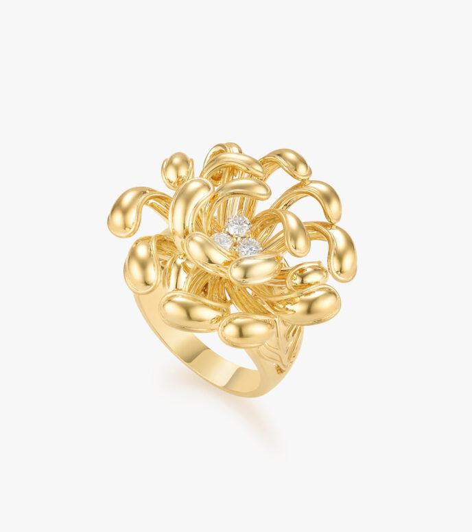 Nhẫn nữ Kim cương Vàng 18K DXDB286N