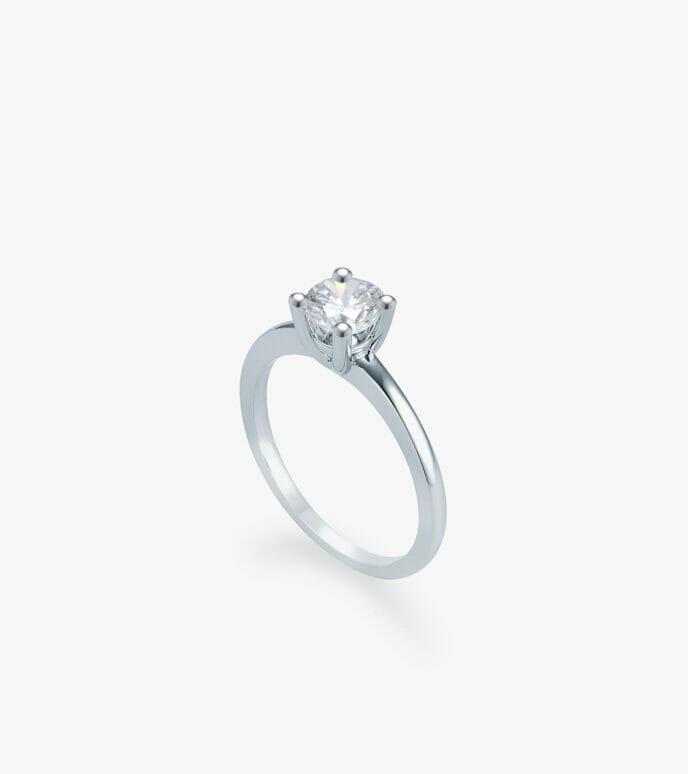 Nhẫn nữ Kim cương Vàng trắng DXN617