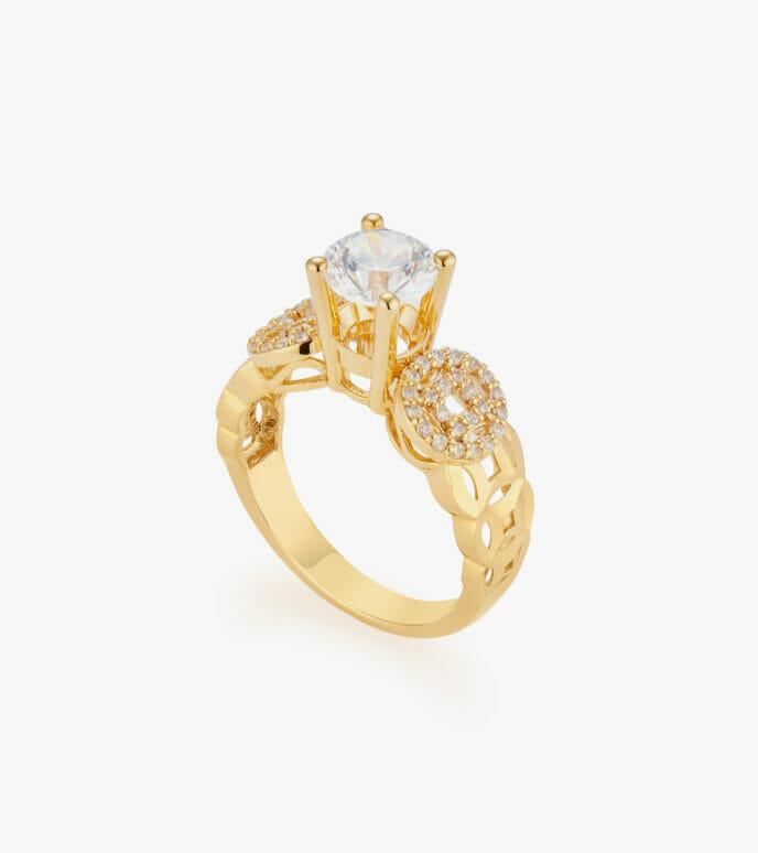 Nhẫn nữ Vàng 18K CSDB877N