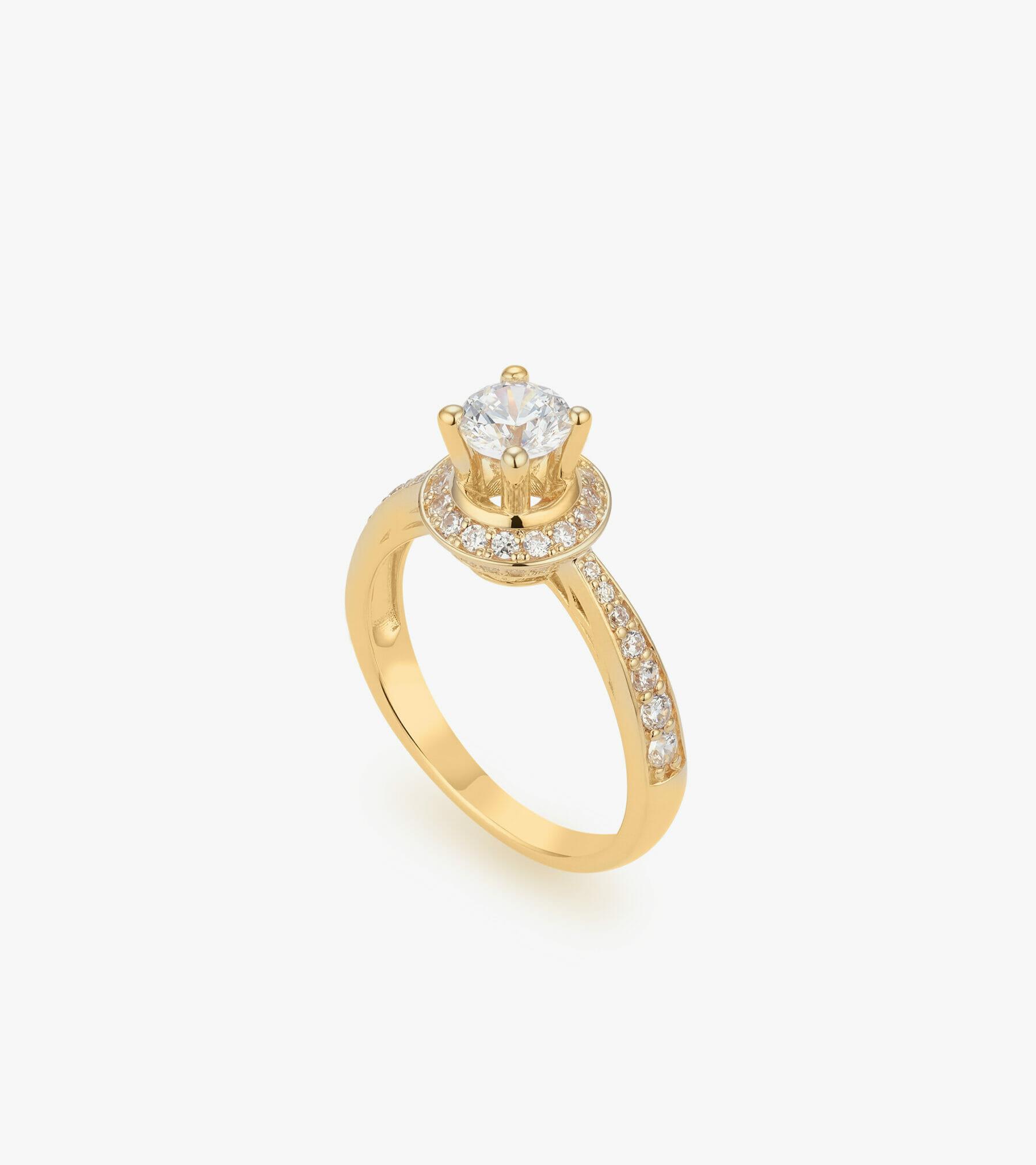Nhẫn nữ Vàng 18K CSDB980N