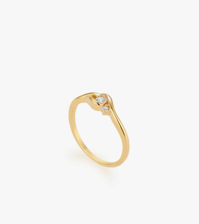 Nhẫn nữ Vàng 18K CSN1840
