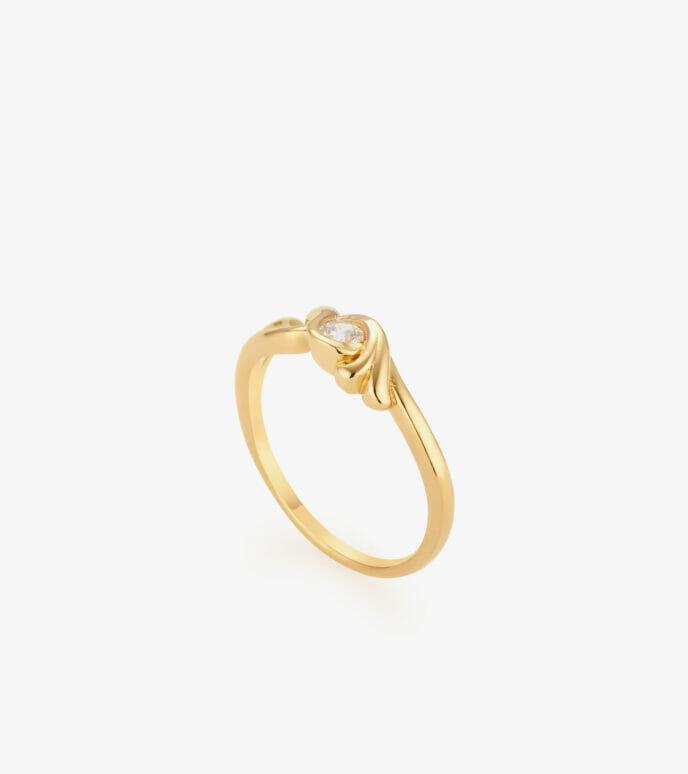 Nhẫn nữ Vàng 18K CSN1845