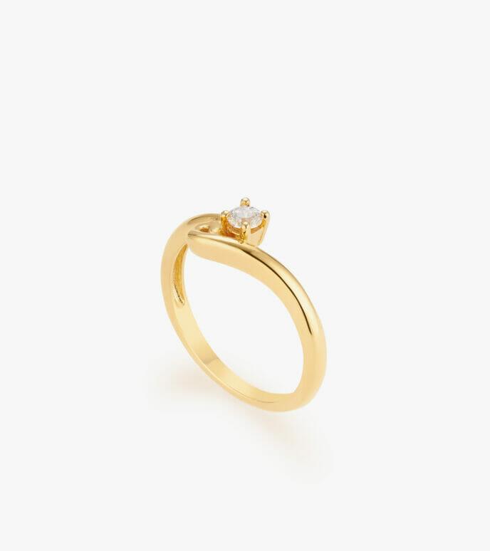 Nhẫn nữ Vàng 18K CSN1854