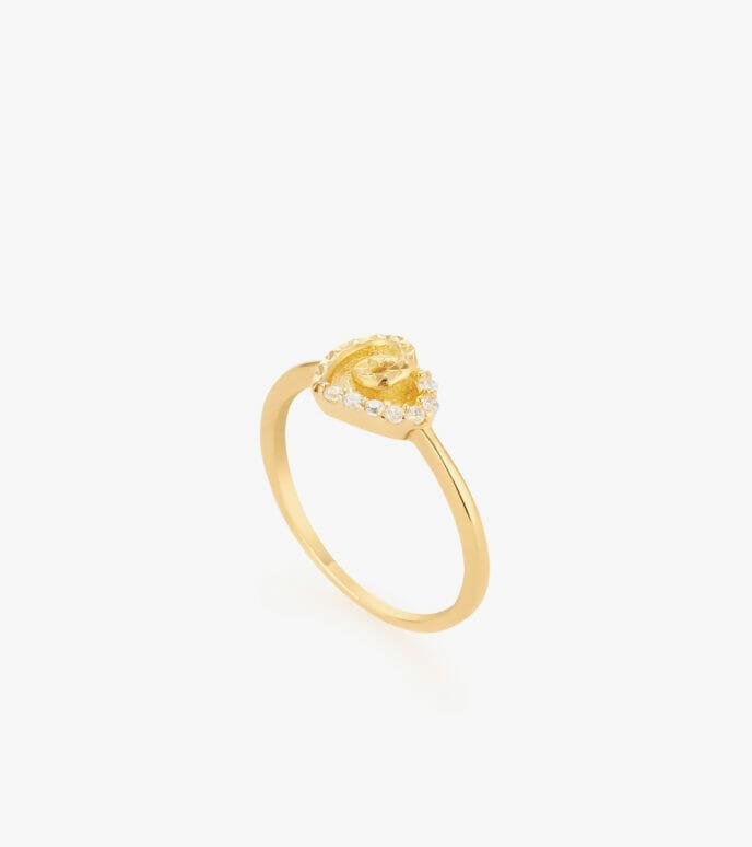 Nhẫn nữ Vàng 18K CSN1905
