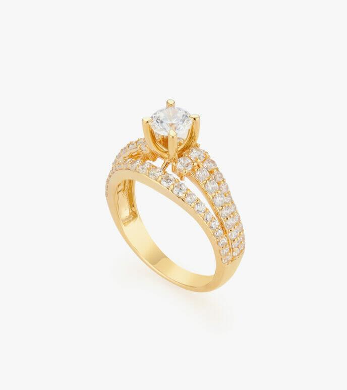 Nhẫn nữ Vàng 18K CSN2030