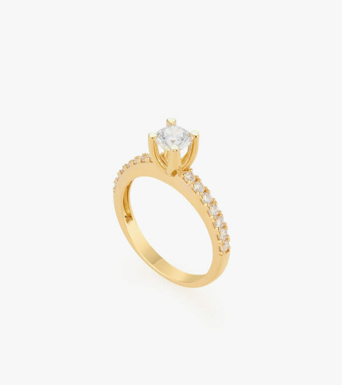 Nhẫn nữ Vàng 18K CSN2031
