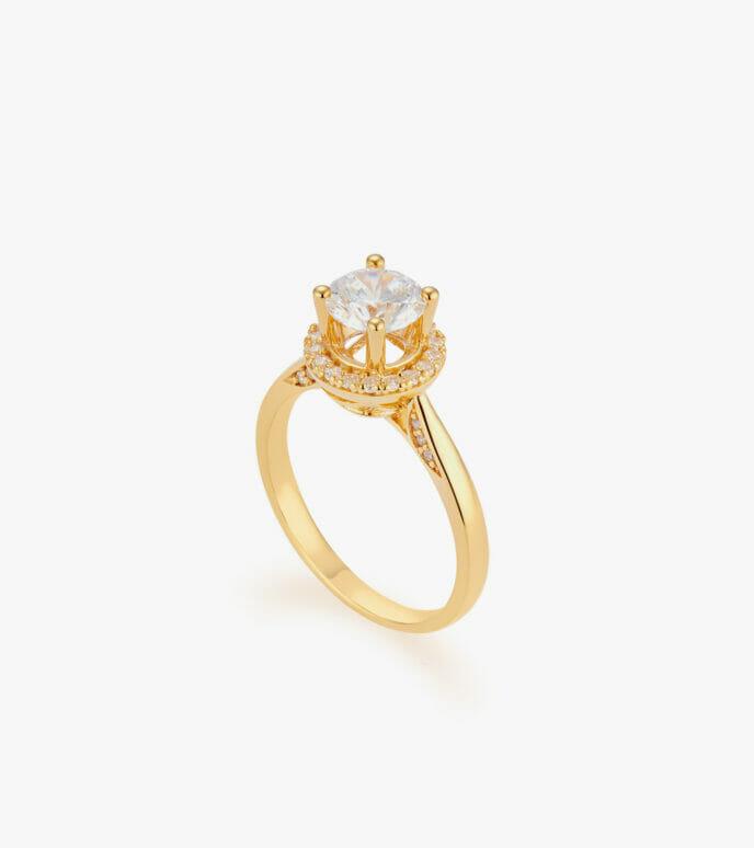 Nhẫn nữ Vàng 18K CSN204