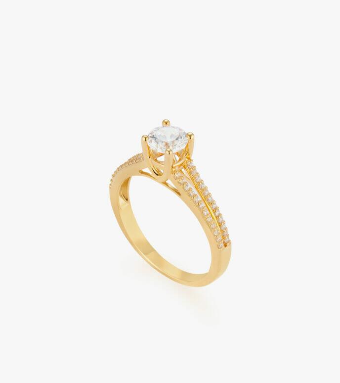 Nhẫn nữ Vàng 18K CSN208