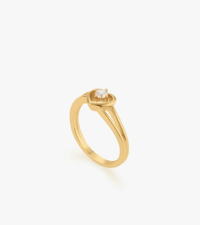 Nhẫn nữ Vàng 18K CSN2209