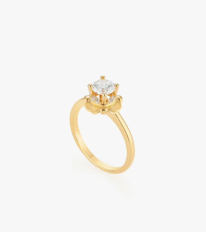 Nhẫn nữ Vàng 18K CSN2243