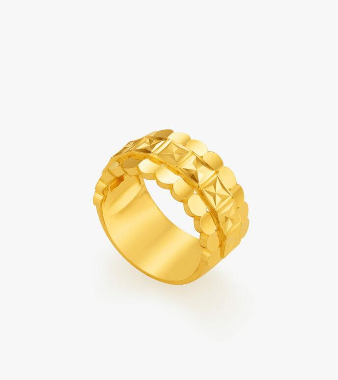 Nhẫn nữ Vàng 24K CKN527-1