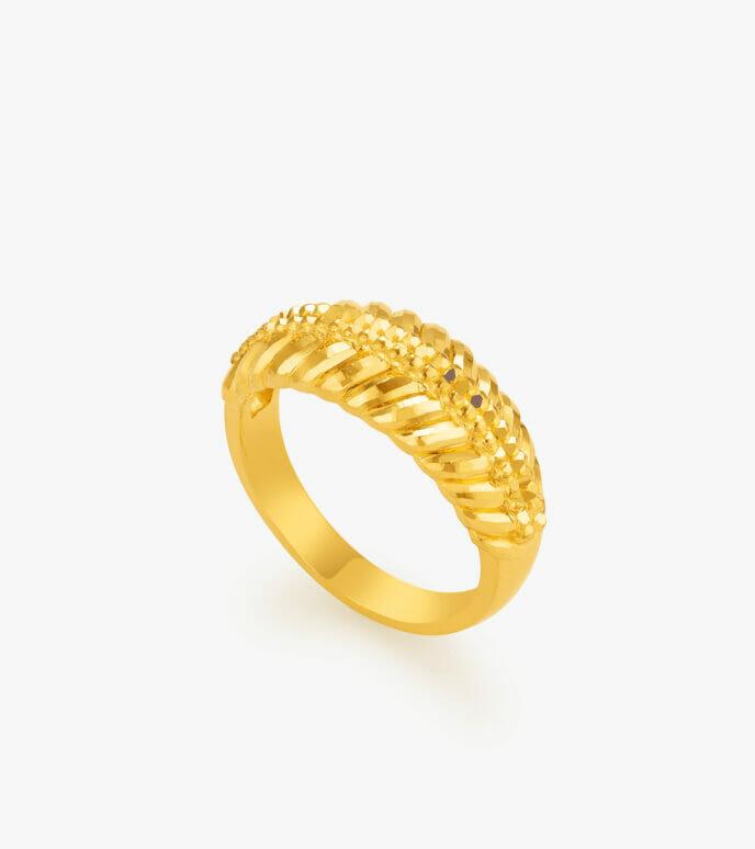 Nhẫn nữ Vàng 24K CKN539-1