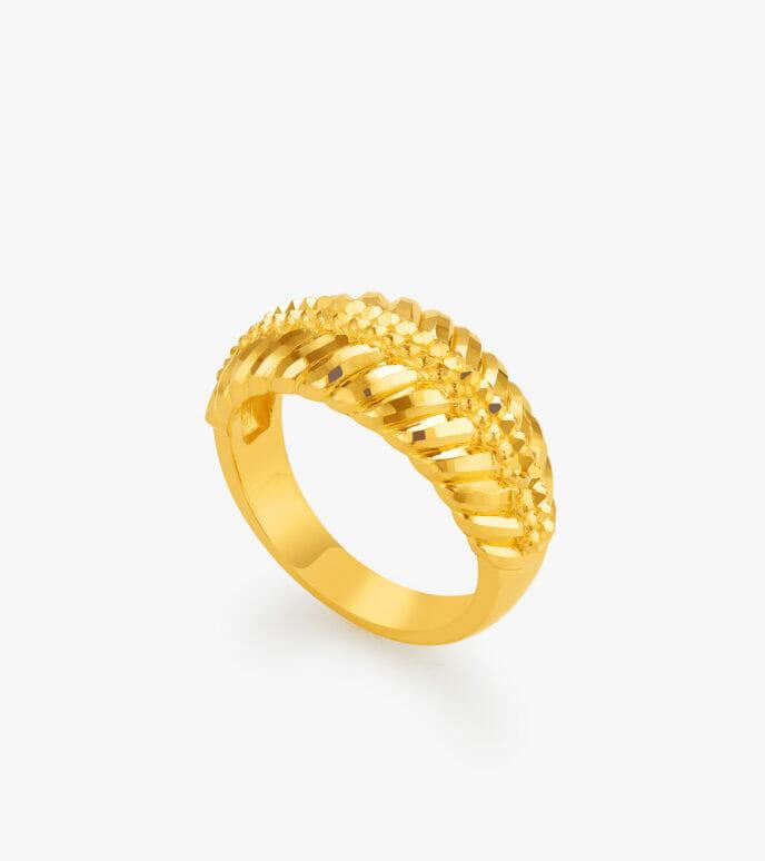 Nhẫn nữ Vàng 24K CKN539-2