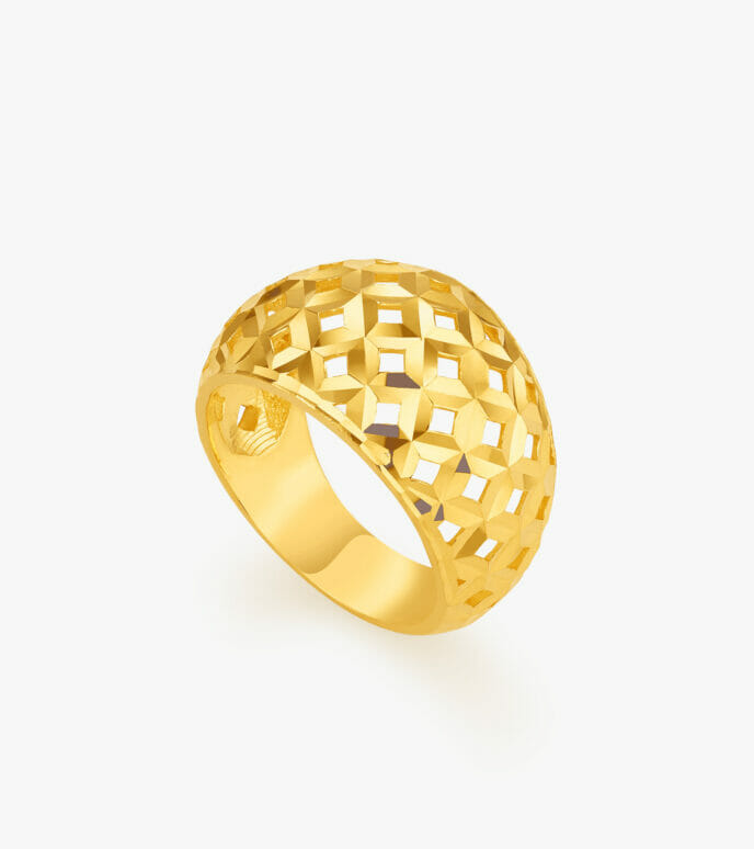 Nhẫn nữ Vàng 24K CKSN895-1