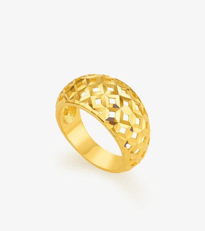 Nhẫn nữ Vàng 24K CKSN895