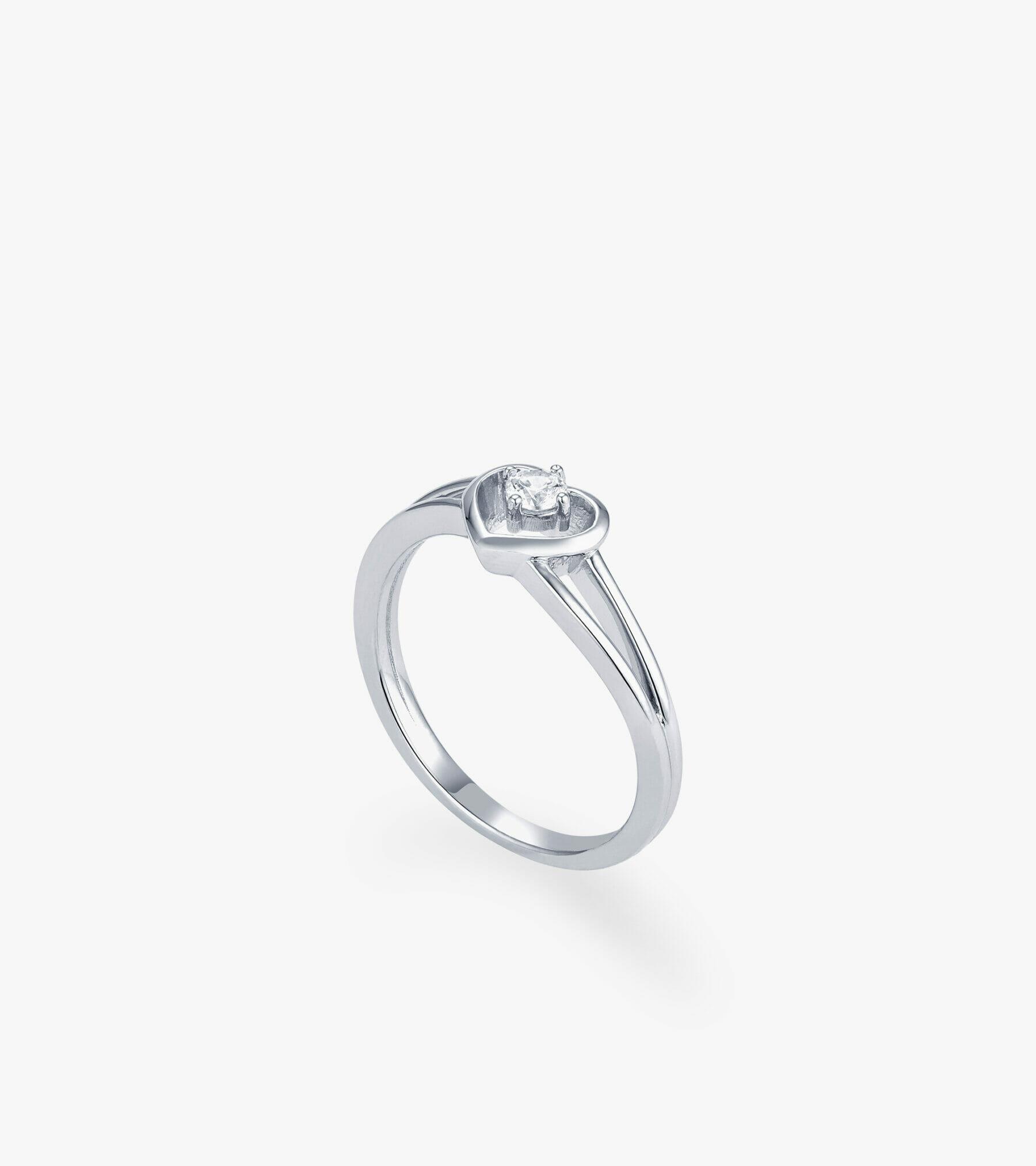 Nhẫn nữ Vàng trắng CSN2209