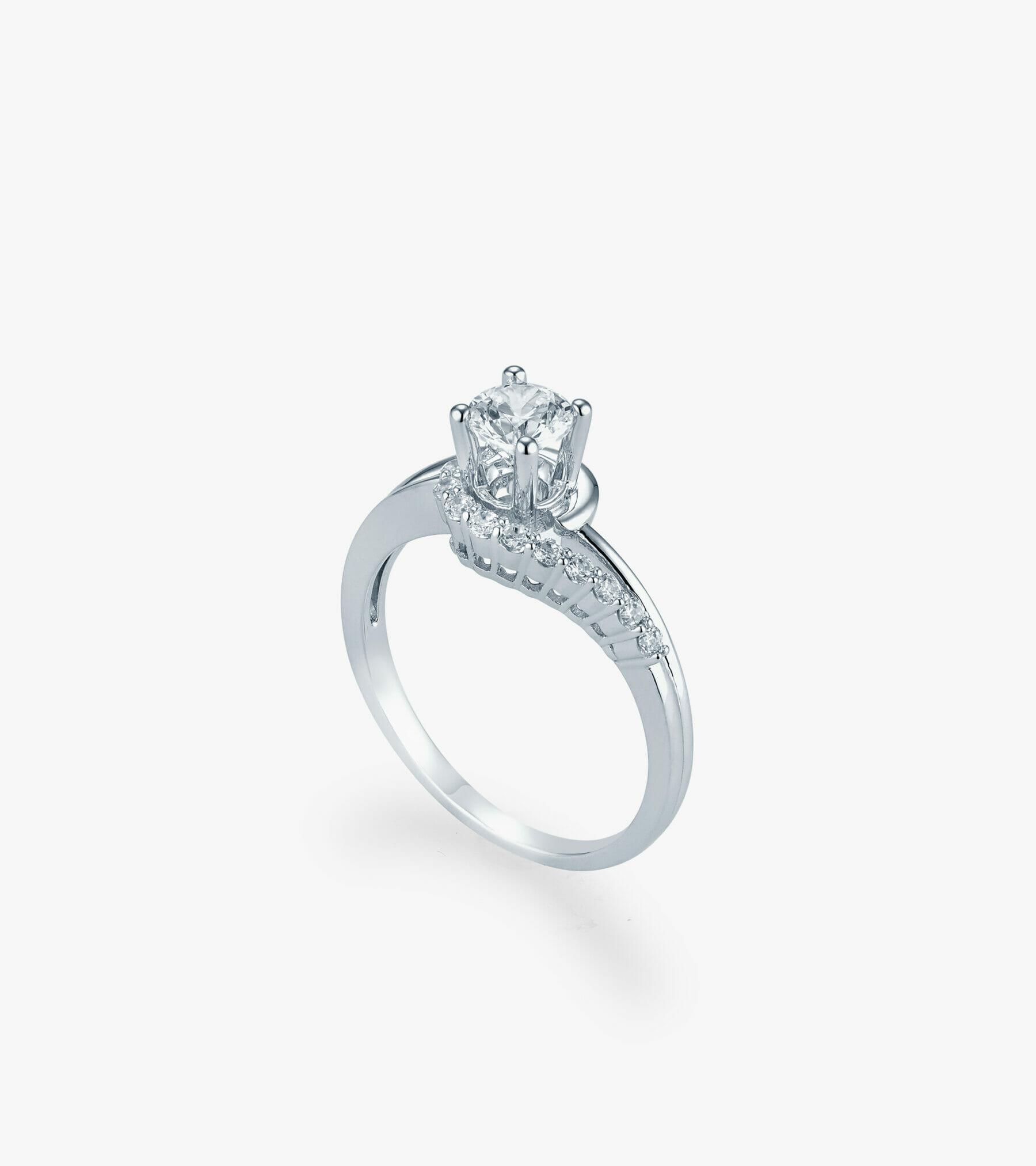 Nhẫn nữ Vàng trắng CSN2265