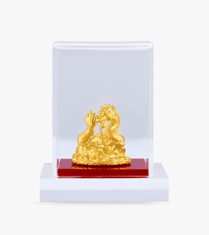 Tượng phong thuỷ Vàng 24K KPT55M