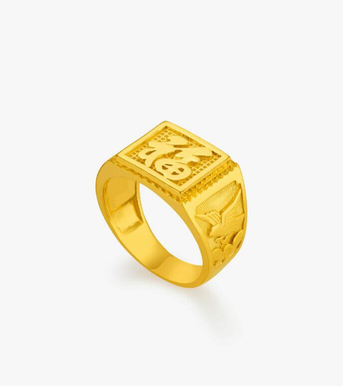 Nhẫn nam Vàng 24K CKNT0009