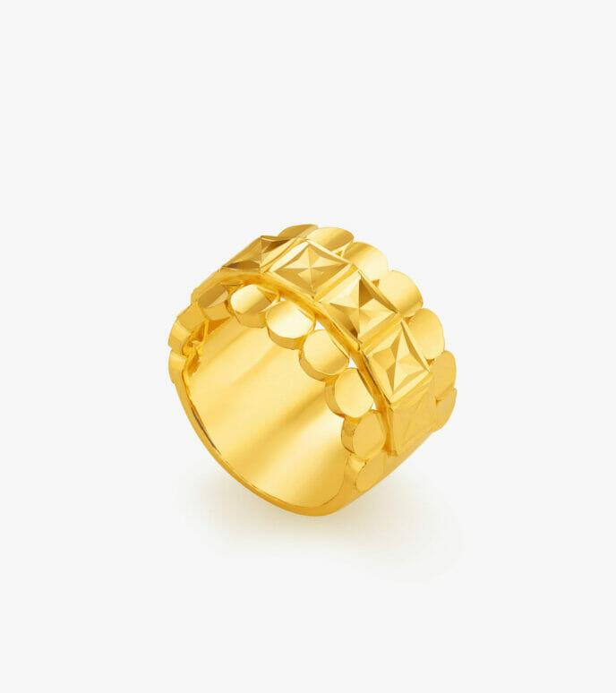 Nhẫn nữ Vàng 24K CKN527-2
