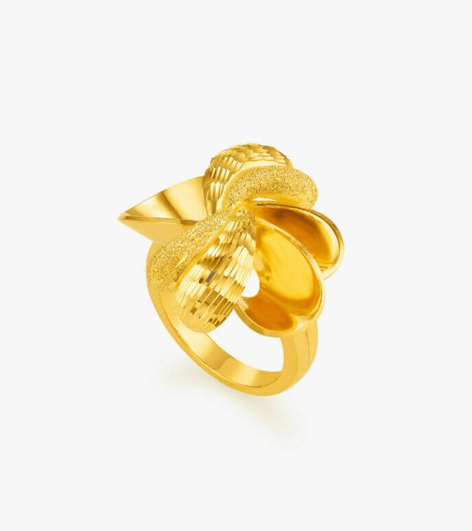 Nhẫn nữ Vàng 24K CKN534-1