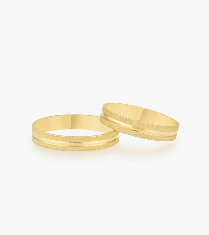 Nhẫn cưới Vàng 18K WSN2144