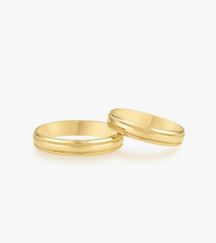 Nhẫn cưới Vàng 18K WSN311-1