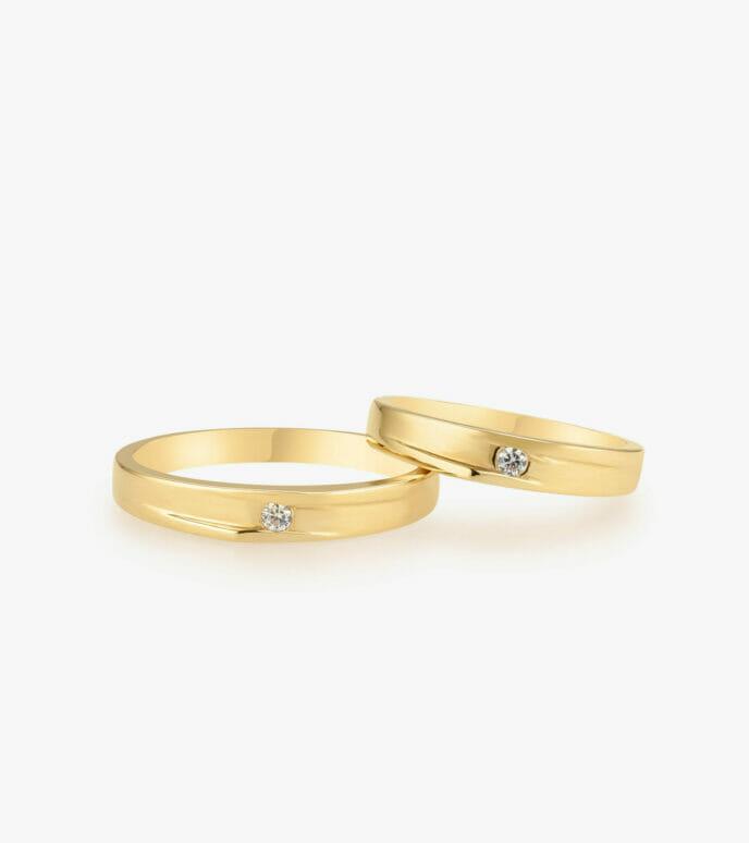 Nhẫn cưới Vàng 18K WSN324-1