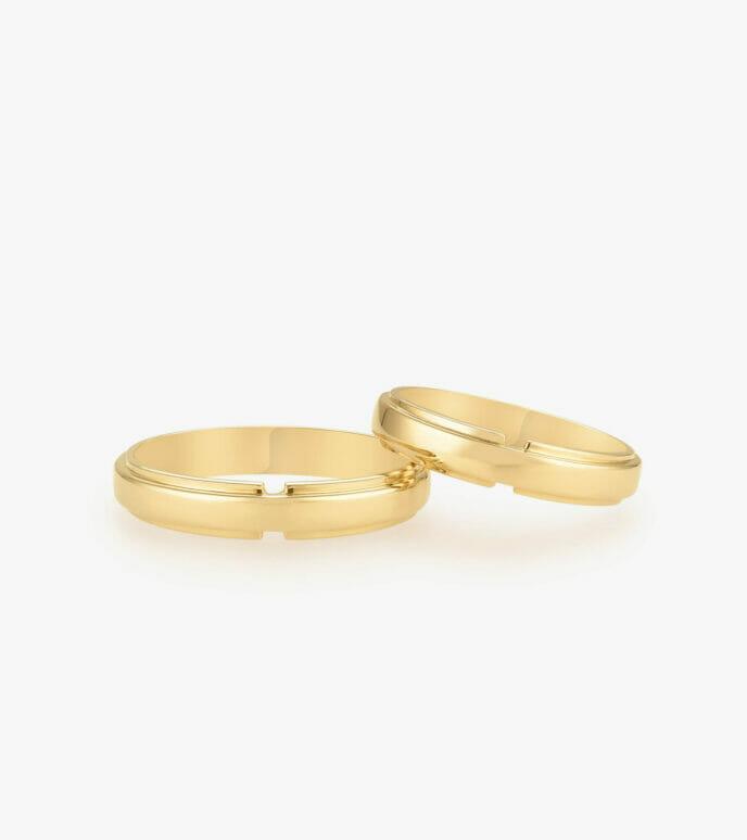 Nhẫn cưới Vàng 18K WSN344-1